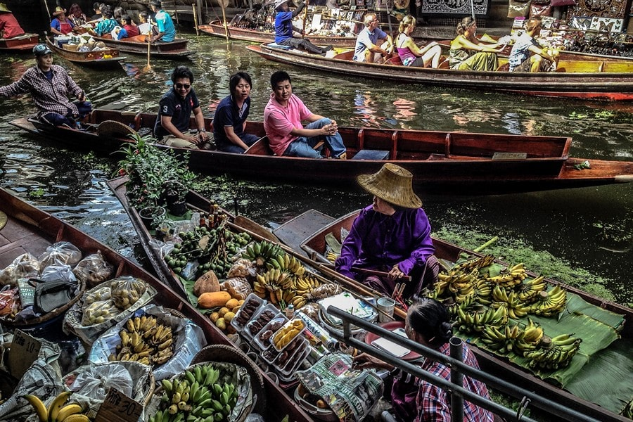 Damnoen Saduak Floating Market thing to do in thailand bangkok