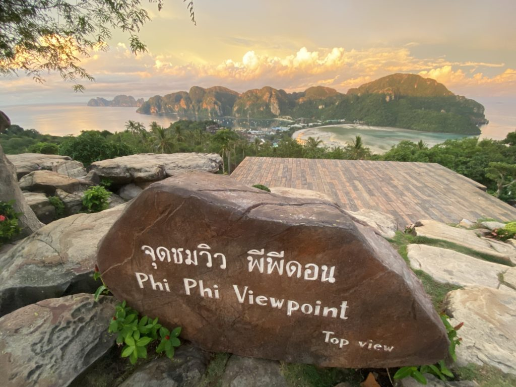 overnight stay phi phi islands, 48 hours in koh phi phi, 2 days 1 night koh phi phi, beach sunset island