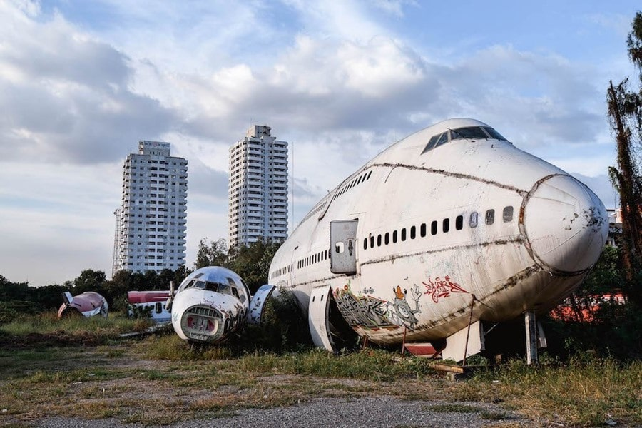 airplane graveyard bangkok things to do ghost tower