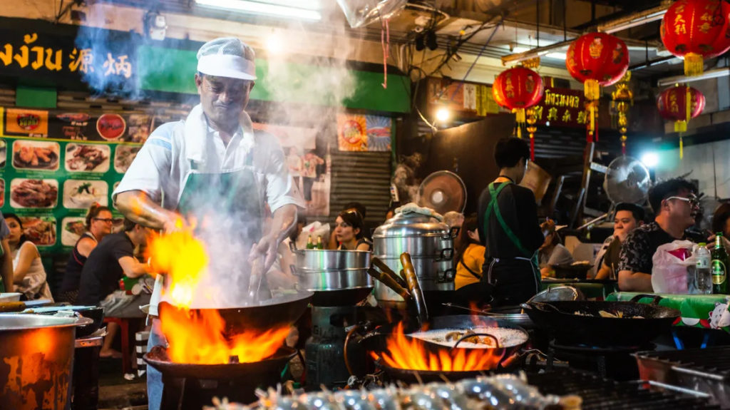 is phuket of bangkok best for foodies