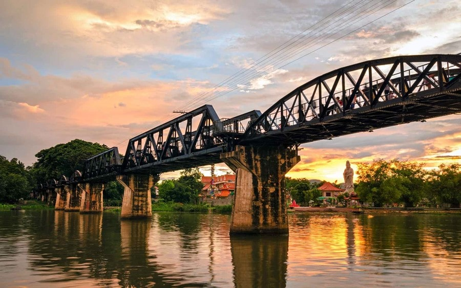 Kanchanaburi bangkok bridge over the river kwai things to do in thailand burnese burma railway