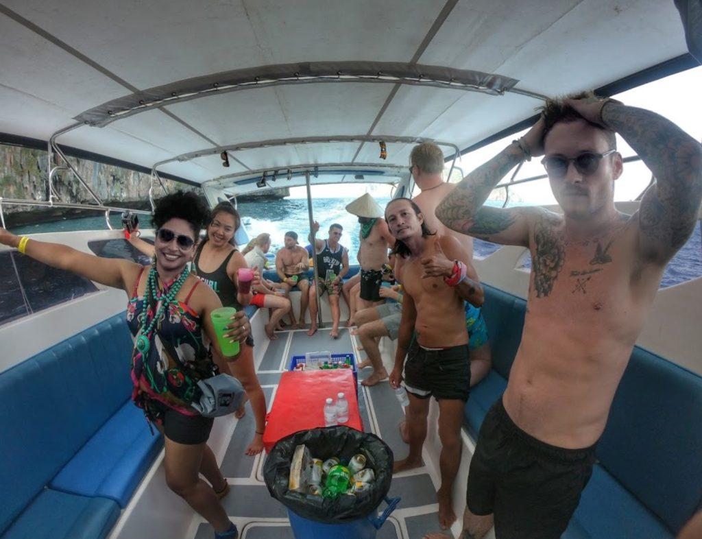 Phi Phi Island Booze Cruise 1