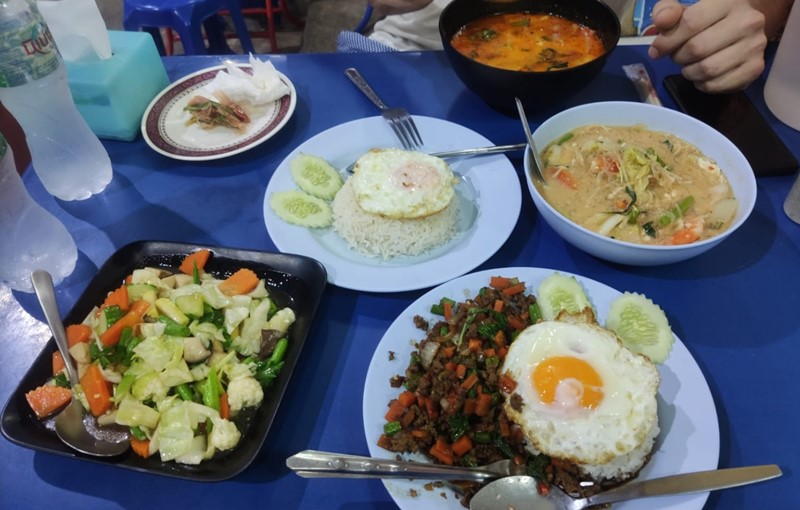 Phi Phi Island Food Prices 1