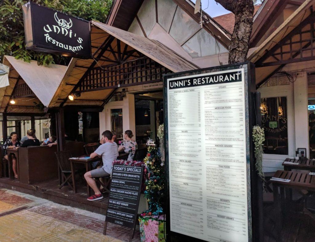 Phi Phi Island Unnis Restaurant