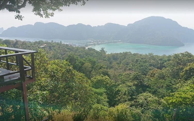 Phi Phi Island viewpoint 1