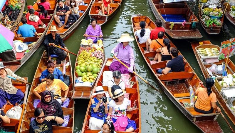 bangkok floating market tour