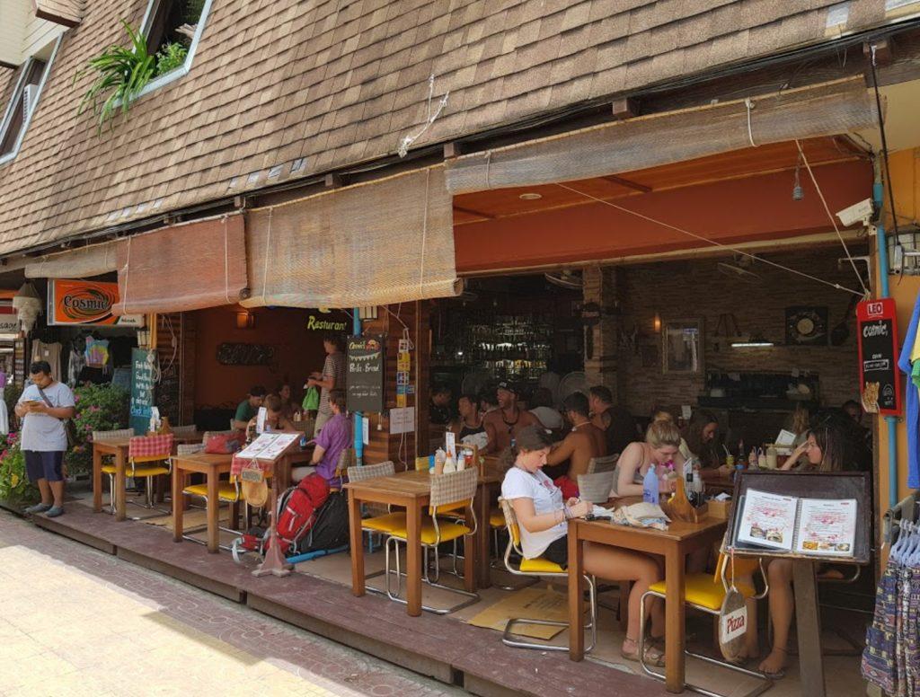 cosmic restaurant phi phi island
