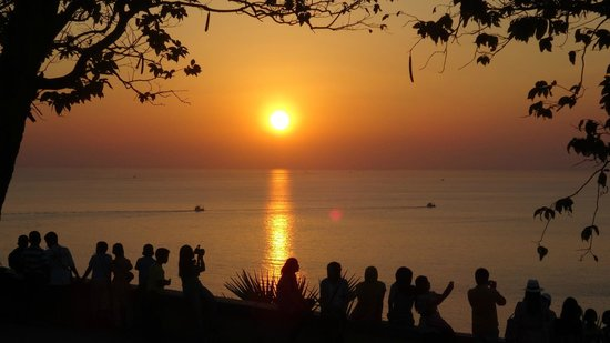 free things to do in phuket catch a sunset at promthep cape