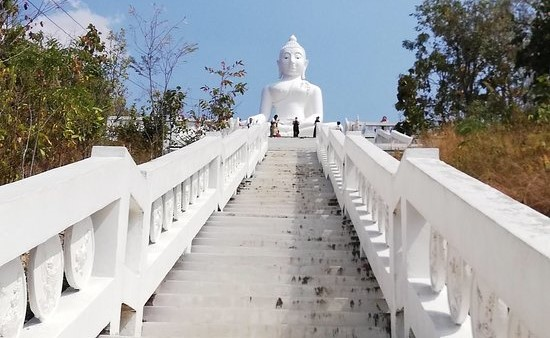 how many stairs to the pai big buddha