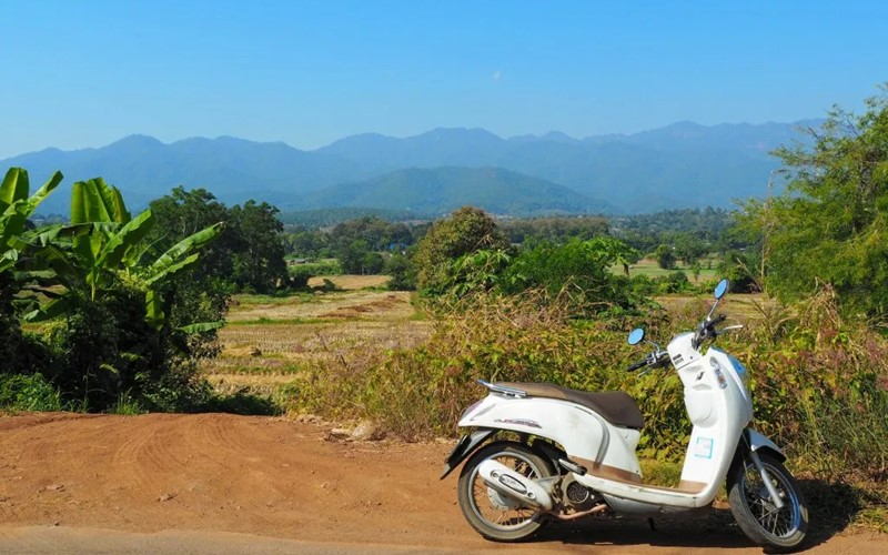 how to get to the pai canyon