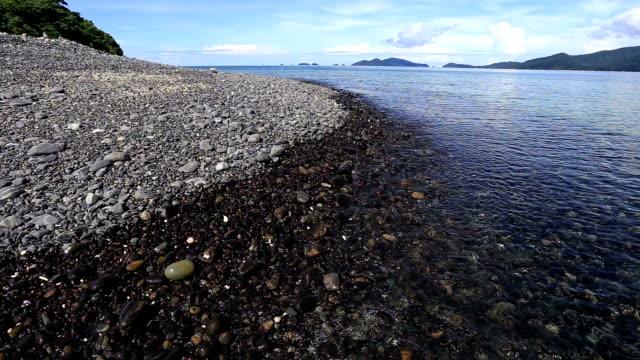koh adang black sand beach