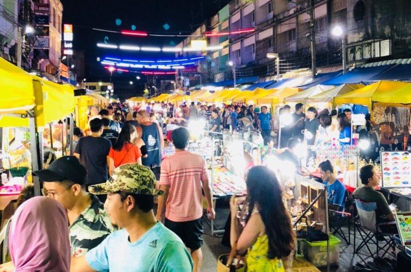krabi night market stalls