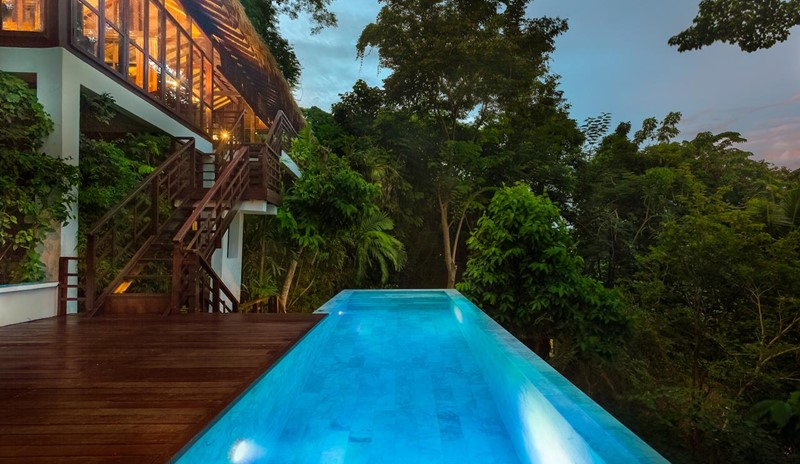 luxury hotel on phi phi island private swimming pool zevola resort