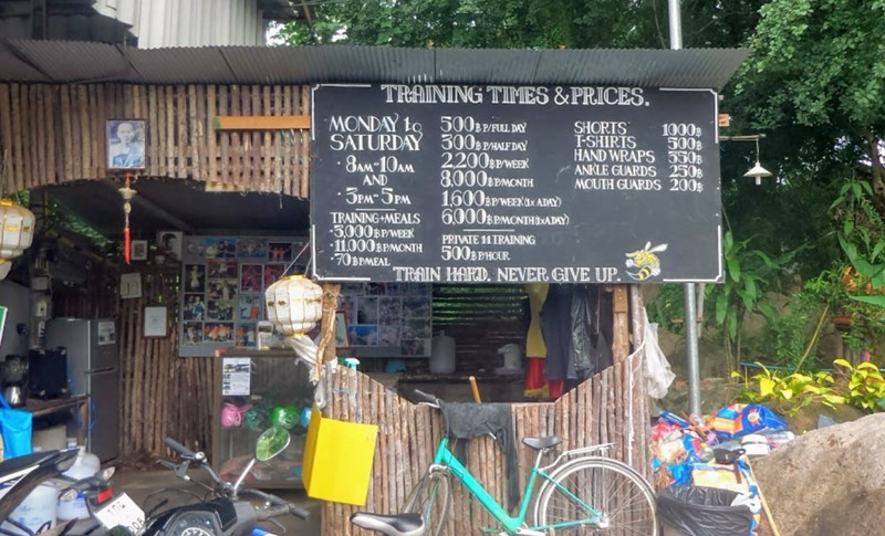 muay thai prices in pai things to do in Pai thailand learn muay Thai in pai