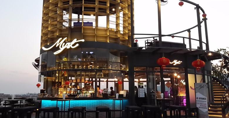 myst sunset bar in maya mall chiang mai