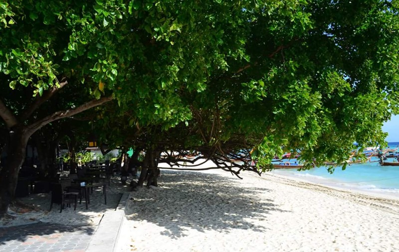 private beach phi phi island holiday inn leam tong