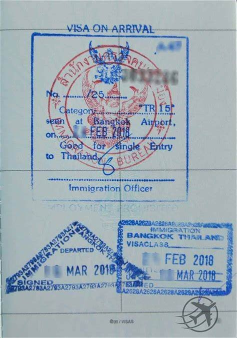 thailand tourist visa on arrival