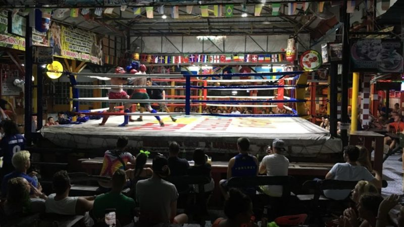 thnigs to do in phi phi island muay thai fight