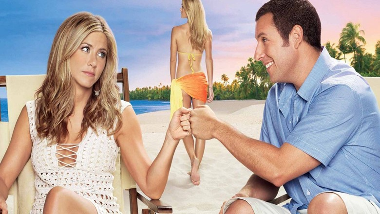 adam sandler jenifer aniston just go with it best travel movies romantic travel movies comedy travel movies family travel movies