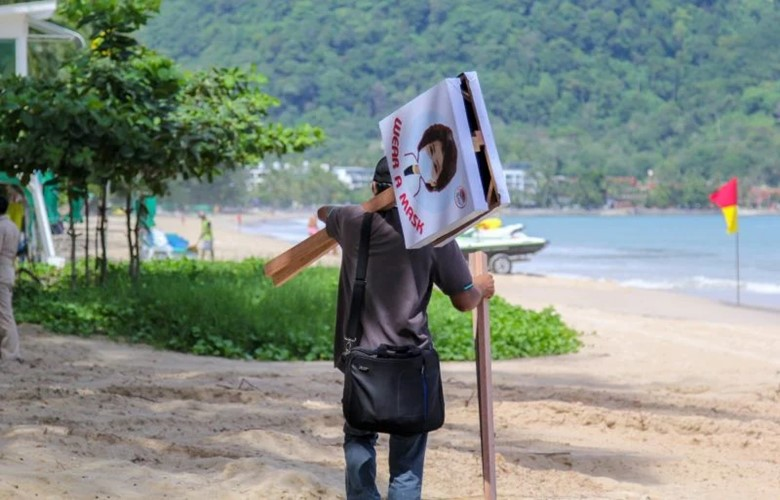 do i need to wear a facemask face mask on the beach in thailand