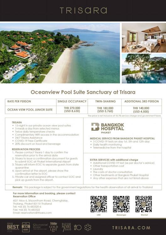thailand covid quarentine hotels outiside of bangkok