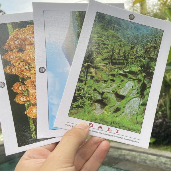 bali postcard support backpack bob travel blog