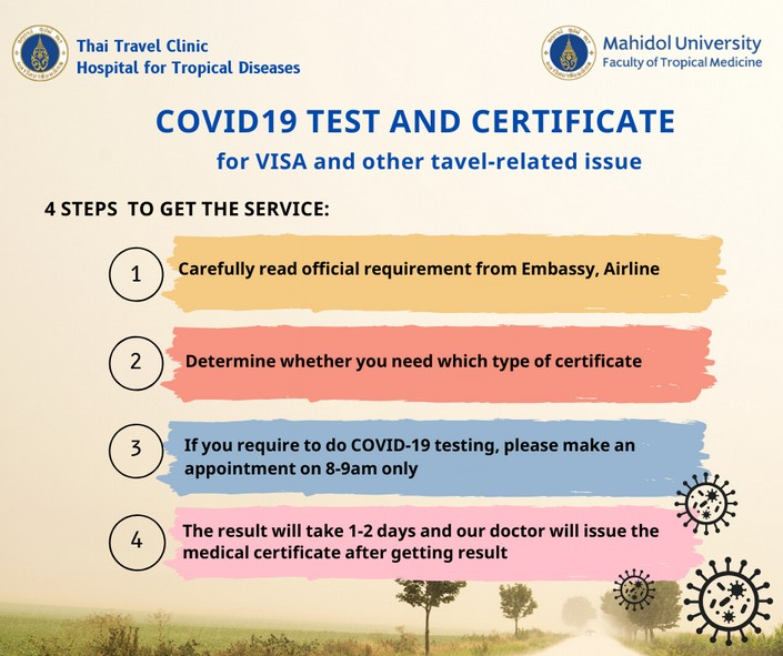 where to get coronavirus test for travel in bangkok where to get tested for covid in thailand how much does a covid test cost in thailand